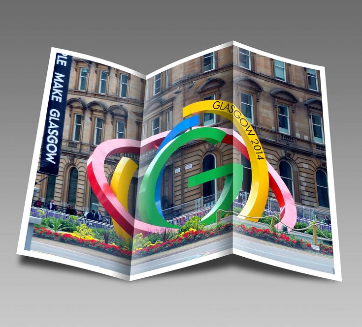#advertising #booklet #commonwealth games #glasgow #leaflet #logo #marketing #pamphlet #scotland #sport