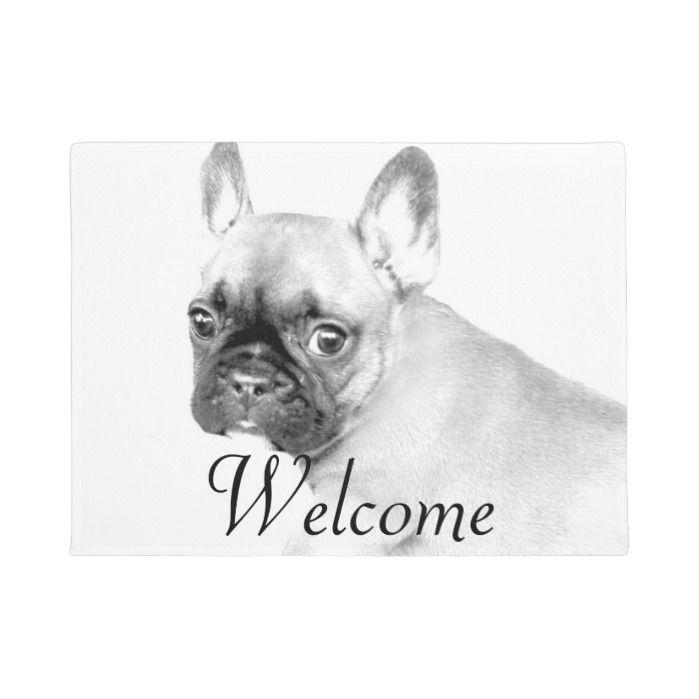 French Bulldog Door Mat Zazzle