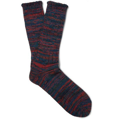 Anonymous IsmMarled Cotton-Blend Socks