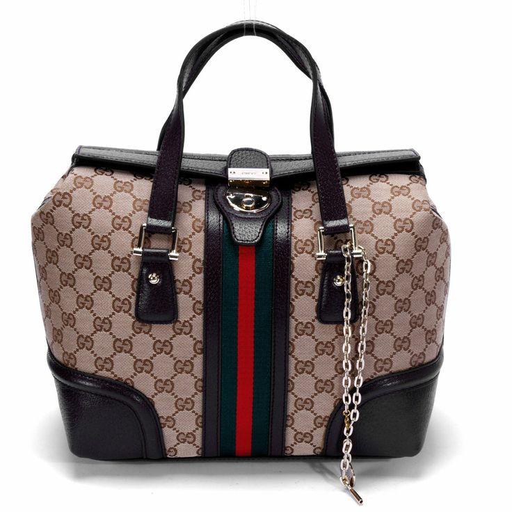 Gucci   Gucci GG tissu Blondie Boston Bag 114914 beige [Sacs11074] - €174.33 ...