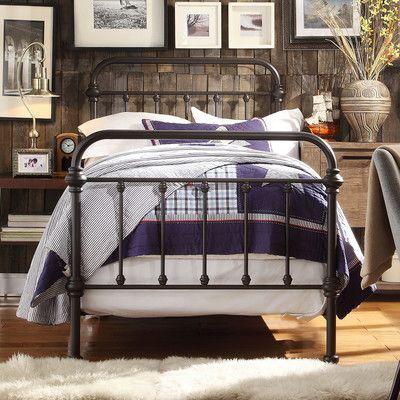 Wayfair Lyon Panel Bed     Scandinavian Design Interior Living   #scandinavian #interior