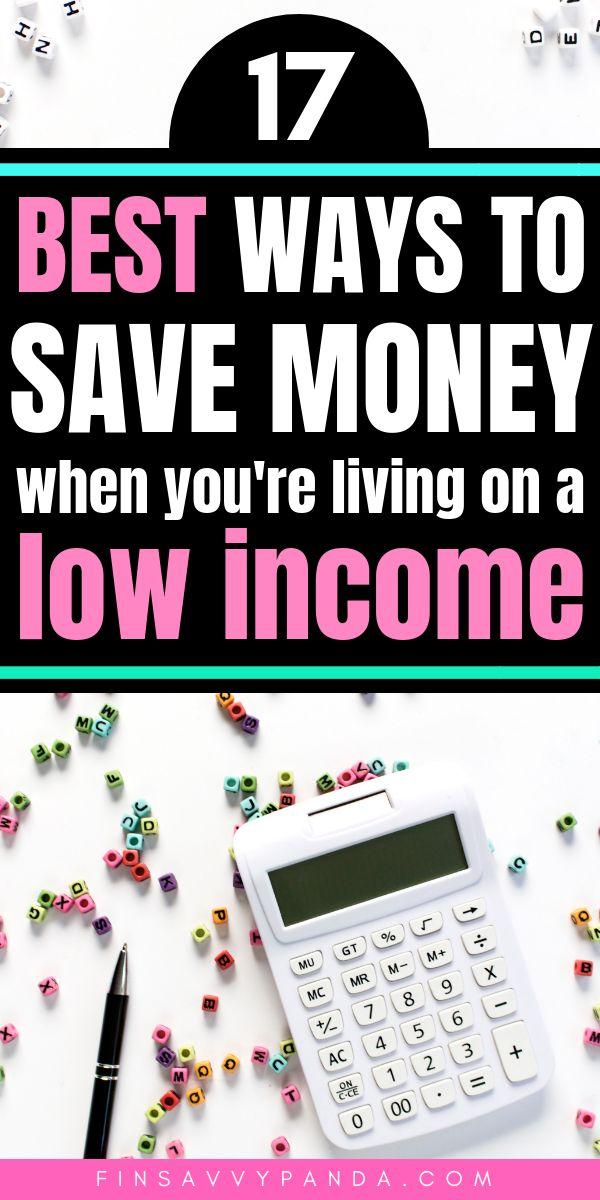 Lebst du von einem Einkommen? Ich weiß, der Kampf ist real! So sparen Sie Geld   – saving money