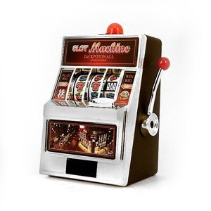 how to make a mini slot machine