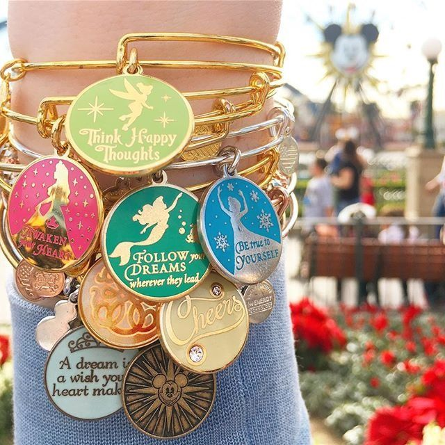 ALEX AND ANI Disney Collection | Available on disneystore.com and at the theme parks in both Disney Land and Disney World