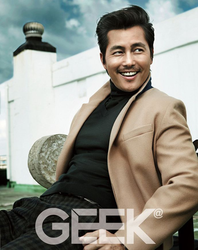 Jung Woo Sung Is A Generous Smiler For GEEK's November 2013 Issue (UPDATED w/ 2 Spreads) | Couch Kimchi