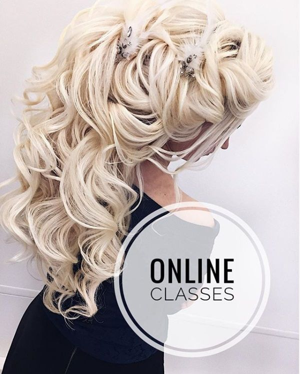 Online Bridal Hair Styling Classes Video Courses Basic And Advance Learn Hair Up Bridal Hairstyling Our Hair Stylist Wedding Hairstyles Hair Styles Hair