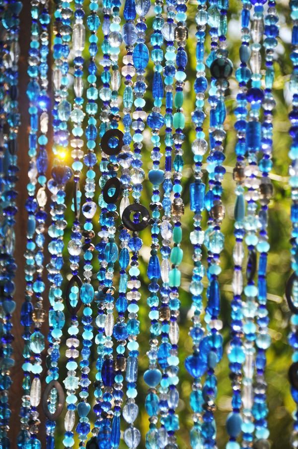 Beaded Curtain Hanging Door Beads Beaded Curtains