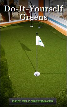 SYNLawn Golf manufactures and installs the highest quality home putting greens and practice putting mats to create a golf experience that's anything but artificial.