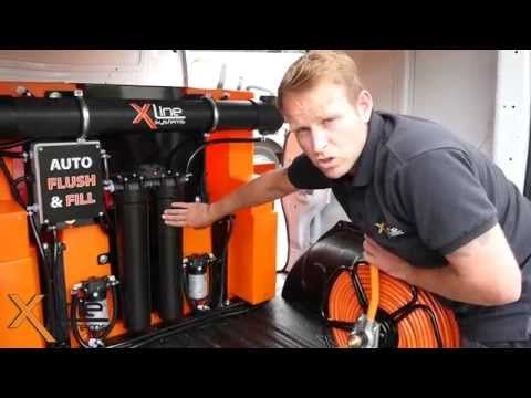New X-Tank Pure Water Fed Pole Window Cleaning System from Xline Systems http://www.xline-systems.co.uk/water-fed-pole-systems
