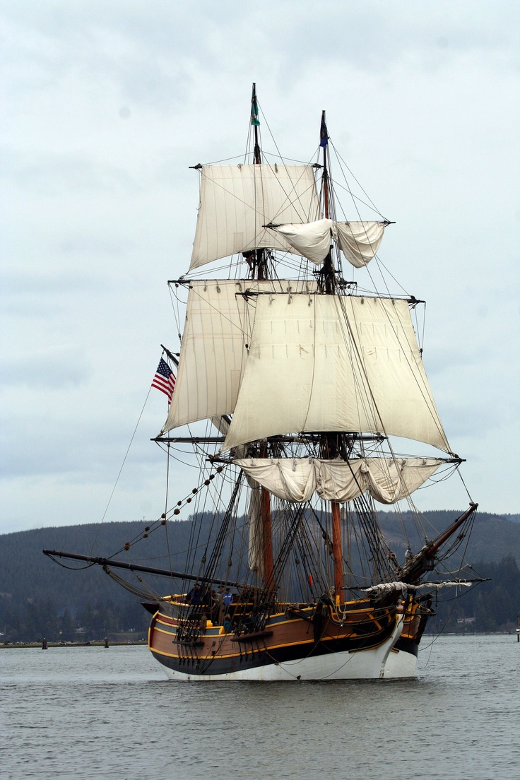 Lady Washington (replica, brig) {we loved to come aboard (cool that she sailed for Pirates of the Caribbean & Star Trek!)}