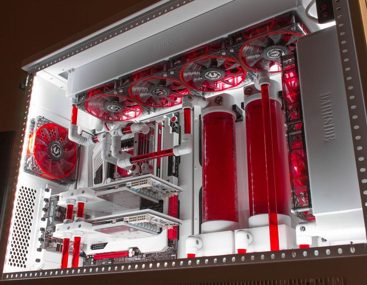 overclock.net Snef's Bloody Angel.... I'm finding the red on white super smexy.