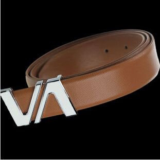 Cheap fashion rhinestone belts, Buy Quality fashion bravo directly from China belt display Suppliers: Hot sale free shipping unsex straps summer Double V designer real leather women jeans joker belts men luxury belt brand