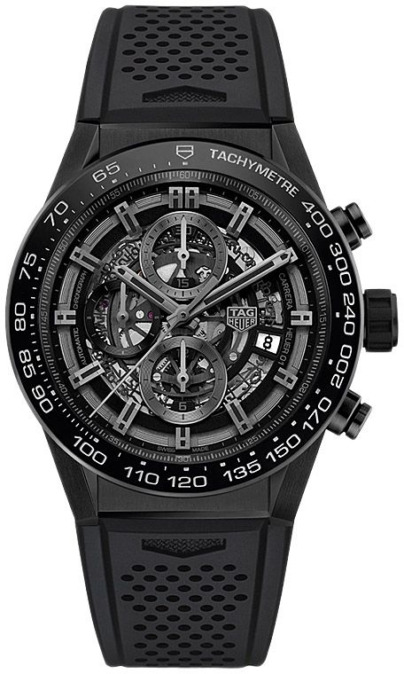 Tag Heuer CAR2A90.FT6071 Carrera Calibre Heuer 01 Automatic Chronograph 45 mm . #tagheuer