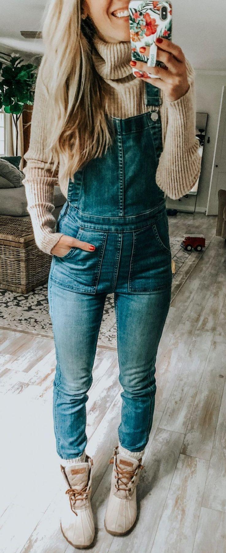 50 Herbst-Outfit-Ideen im Trend – Süße Outfits – #Süss #Herbst #Ideen #Aus …