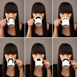 DIY-mustache mugs!!  making theese soon!! already have the mugs!!