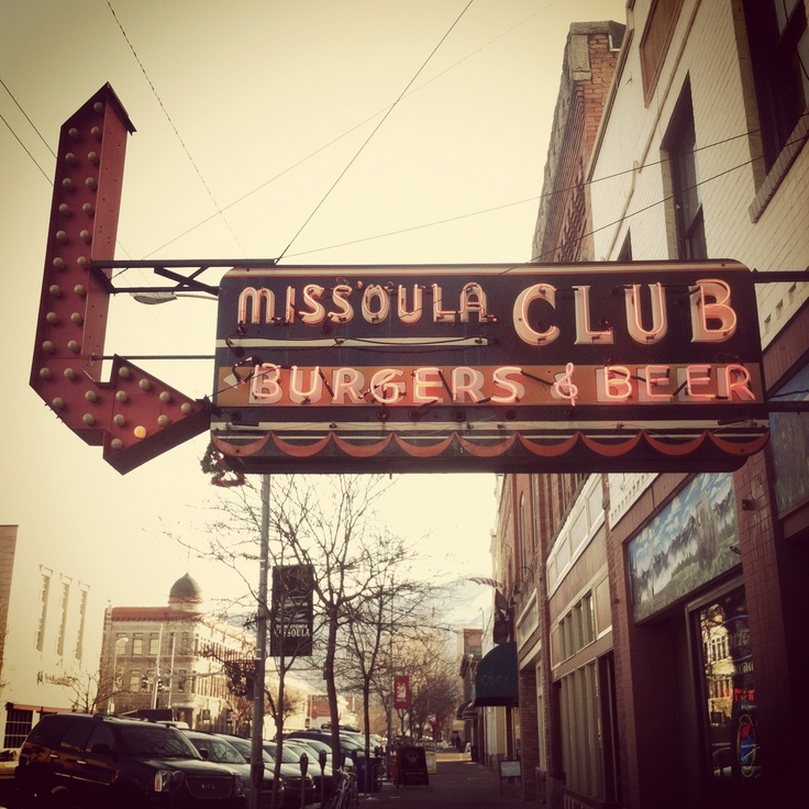 Missoula Club - Missoula, Montana been going there since 1996. Best burger, best pickled eggs, best damn video poker machine. Never fails. Warm beer and cold burgers