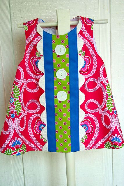 Panel front A-line by iveyc95, via Flickr.  Super cute!