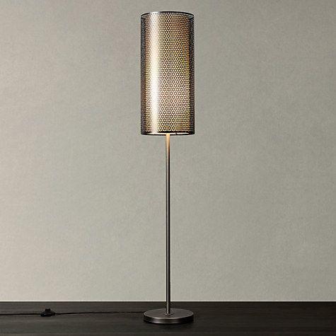 Buy John Lewis Meena Light Effects Floor Lamp, Satin Nickel Online at johnlewis.com