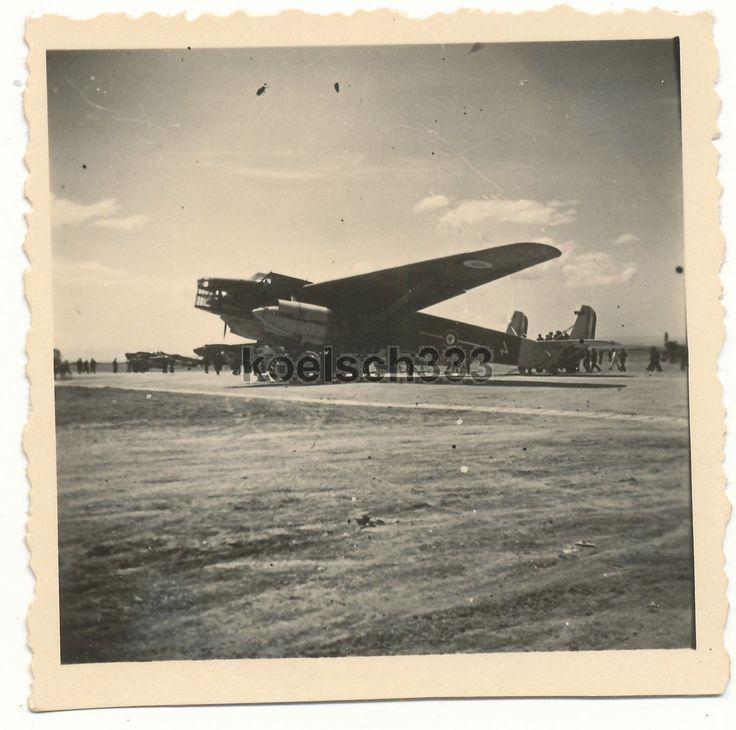 Foto Flughafen Catania Sizilien französisches Flugzeug Farman NC. 223 Italien A in Sammeln & Seltenes, Militaria, 1918-1945 | eBay