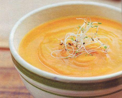 оригинальный рецепт морковно-апельсинового супа