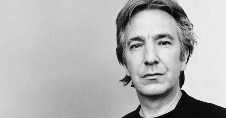 12 Pictures of Young Alan Rickman