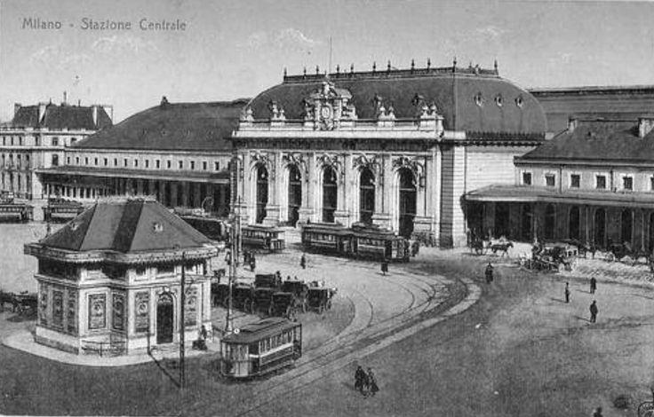 Old image of Milan Central Station