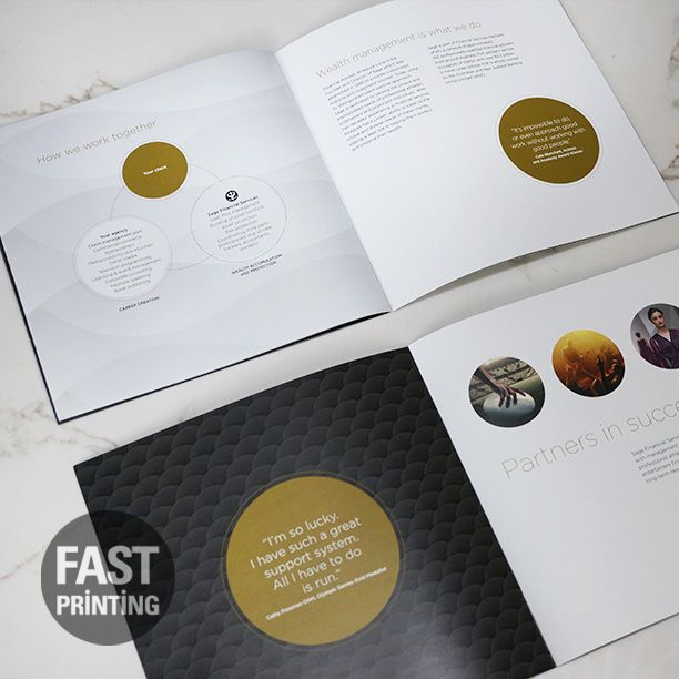 Booklets must look professional and be printed with perfect finish.  #FPbooklets #fastprinting