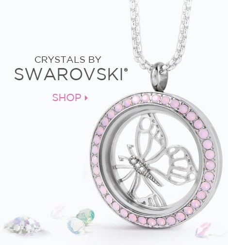 Crystals by Swarovski - Origami Owl Swarovski Crystal Collection https://originalme.origamiowl.com