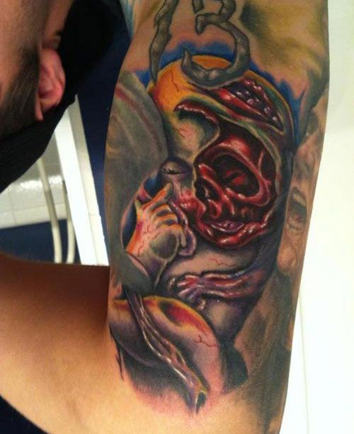 20 Best Zombie Tattoo Designs Images On Pinterest