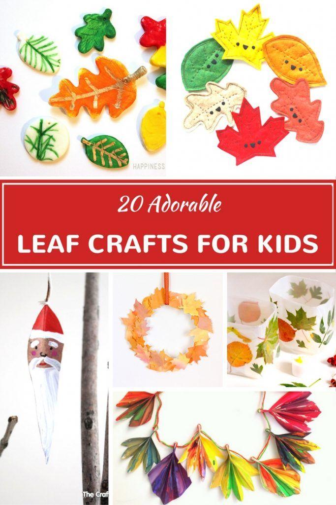 Leaf Crafts For Kids - Copy