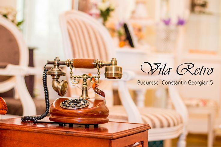 Vă invităm să ne vizitați la Vila Retro, showroom-ul de mobilă şi decorațiuni al Retro Boutique.