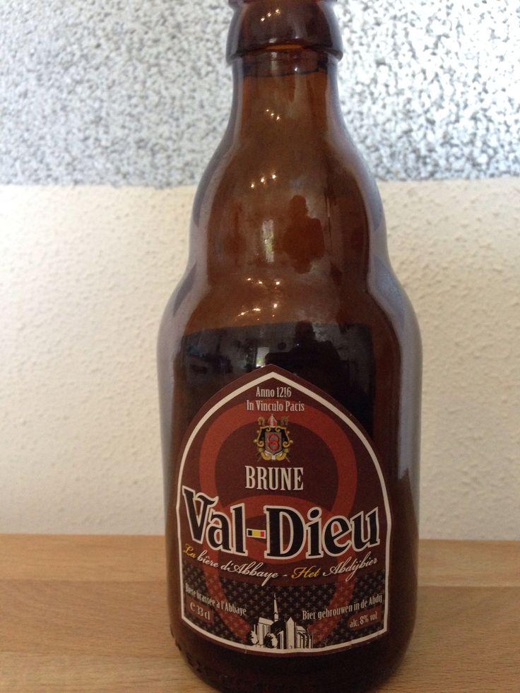 Val-Dieu - Brune - abdijbier 33cl, 8%. Brasserie de l'abbaye du Val-Dieu www.val-dieu.com