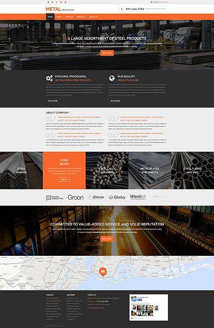 Import Export Website Design