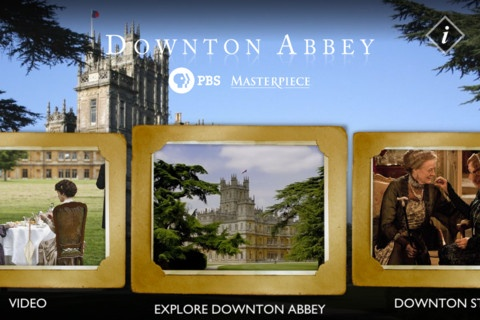 Explore Downton Abbey app