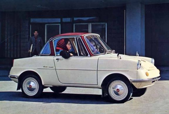 1960 Mazda R360 Coupe.