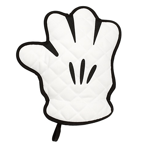 Best of Mickey Mouse Oven Glove. Will have to look for one the next time we go to Disney!