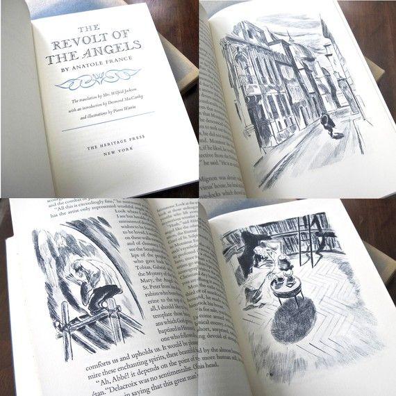 Revolt of the Angels Anatole France Heritage by ProsperosBookshelf