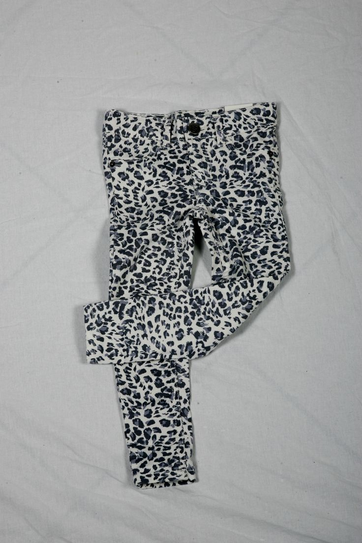 White Leopard Jeggings - $24.95 @ Children's Place