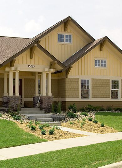 17 best ideas about brown house exteriors on pinterest - House paint color combinations exterior ...