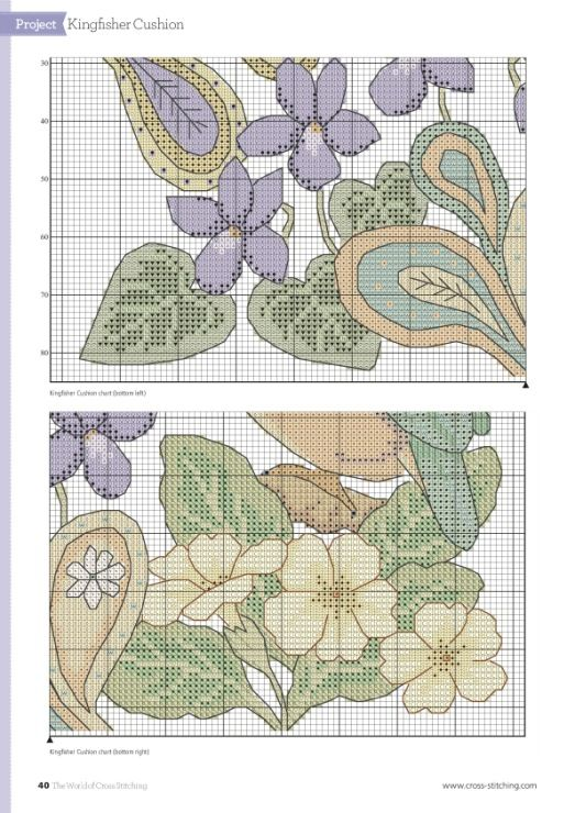 Gallery.ru / Фото #36 - The World of Cross Stitching — March 2017 - Chispitas
