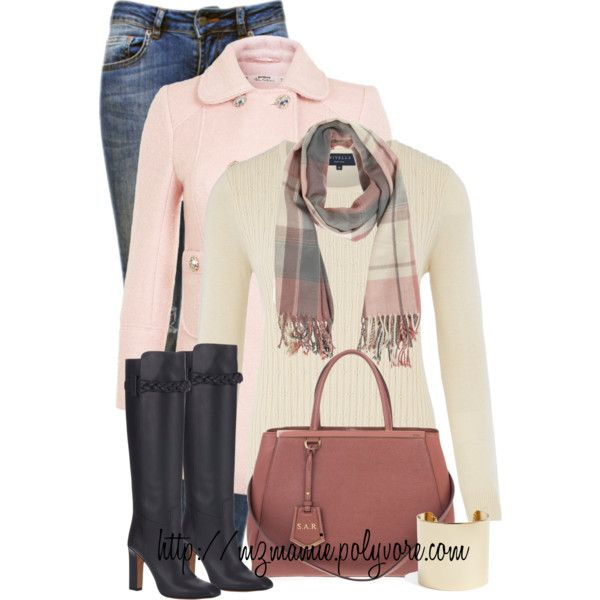 A fashion look from October 2014 featuring Viyella sweaters, Miss Selfridge coats and Anine Bing jeans. Browse and shop related looks.
