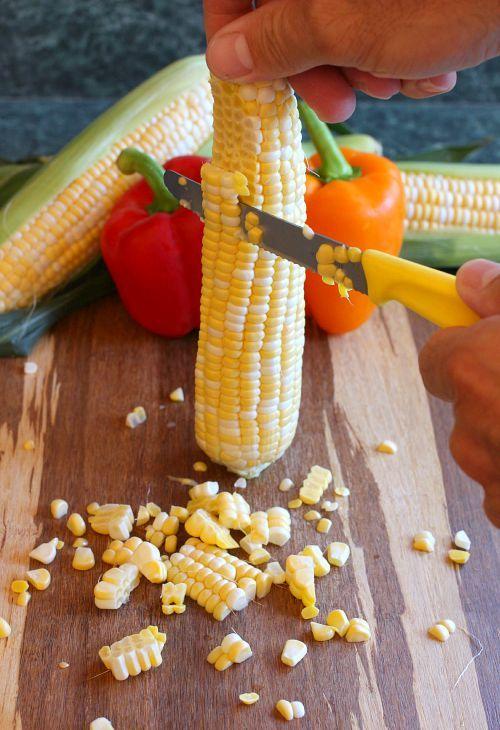 Fresh Corn Succotash - Mantitlement