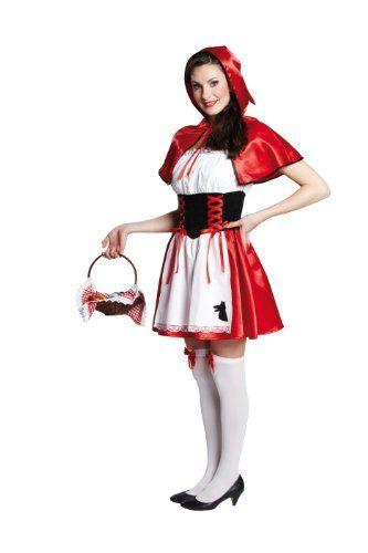 Damen Rotkäppchen Kostüm ca 29€ | Kostüm-Idee zu Karneval, Halloween & Fasching
