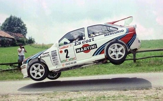 Ford Escort Cosworth rally car - Group A