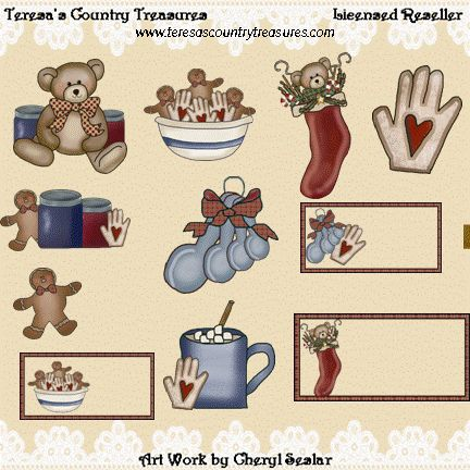 #Christmas Goodies Collection #Clipart
