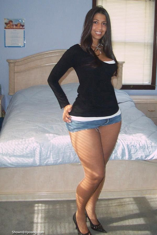 Not thick legs old granny