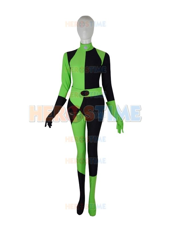 Shego Of Disneys Kim Possible Female Super Villain Costume