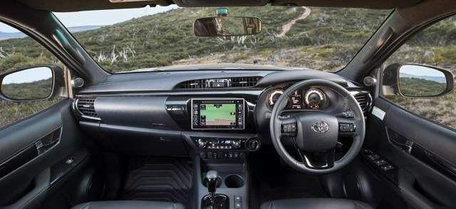 2018 Toyota Hilux Rugged X Interior Toyota Hilux Toyota Pickup Trucks