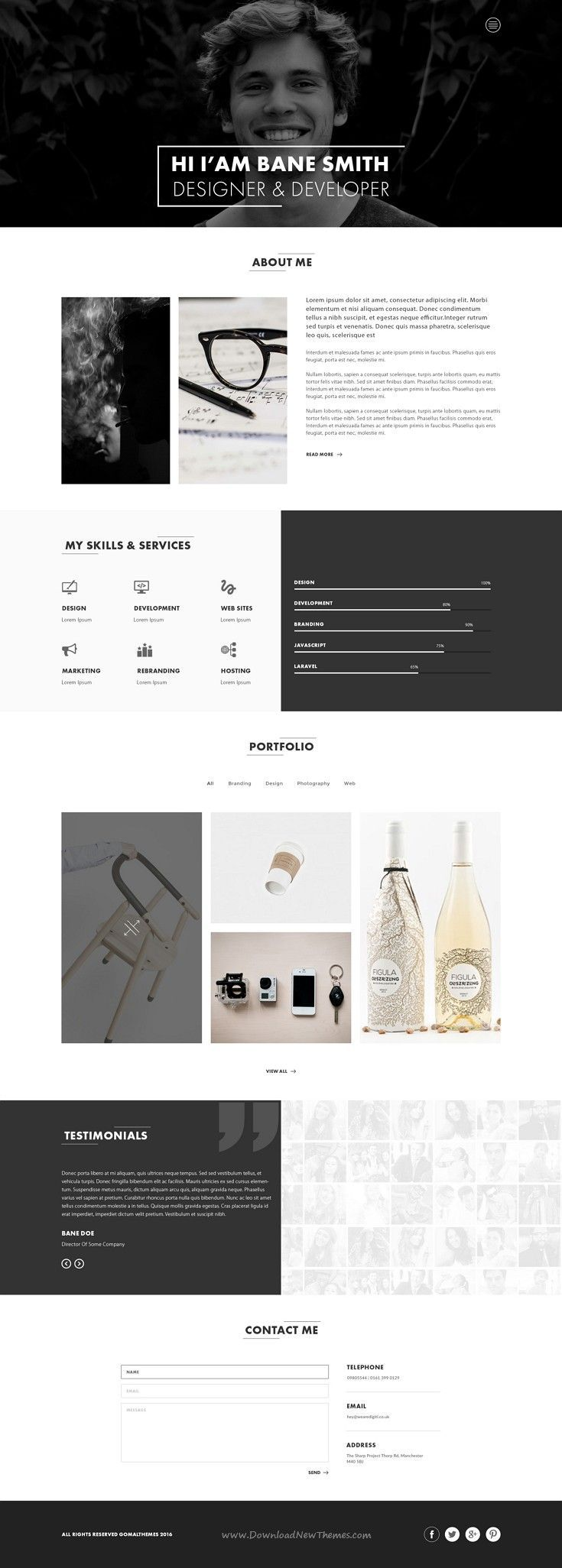 Axio is modern and exclusive #PSD template suitabl…