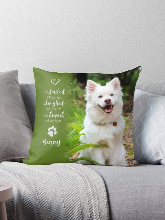 cc1bee06ec27 Pet Photo Pillow 13SLL7 - Pet Memorial - Dog Photo Pillow - Pet Memorial  Pillow - Cat Memorial - Custom Dog Pillow - Dog Memorial - Pet Loss